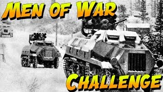 ARTILLERY CHALLENGE!  Men of War Assault Squad 2 3v3