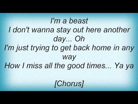 Lenny Kravitz - I Want To Go Home Lyrics