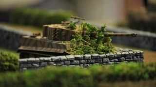 A World War 2 Tank Battle(Stop Motion Animation)