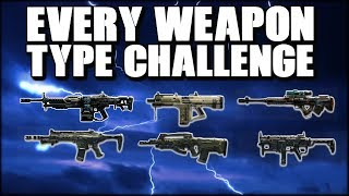EVERY WEAPON TYPE DUO CHALLENGE WITH FLUXURY! COD BLACKOUT CHALLENGE DUB!