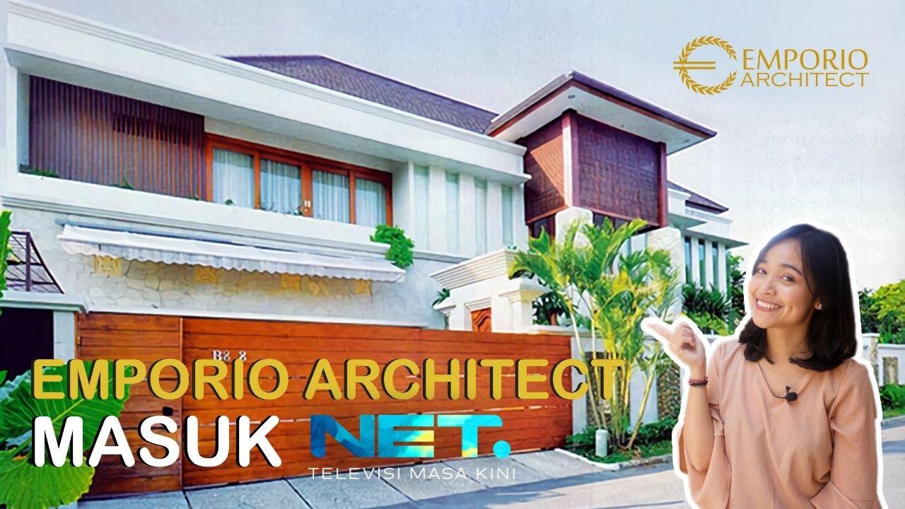 Video Hasil Konstruksi Desain Rumah Villa Bali 2 Lantai Bapak Frans di Jakarta