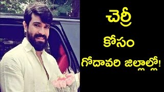 Ram Charan and Sukumar Film Long Schedule in Godavari Districts