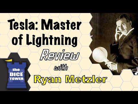 Dice Tower Reviews: Tesla - Master of Lightning