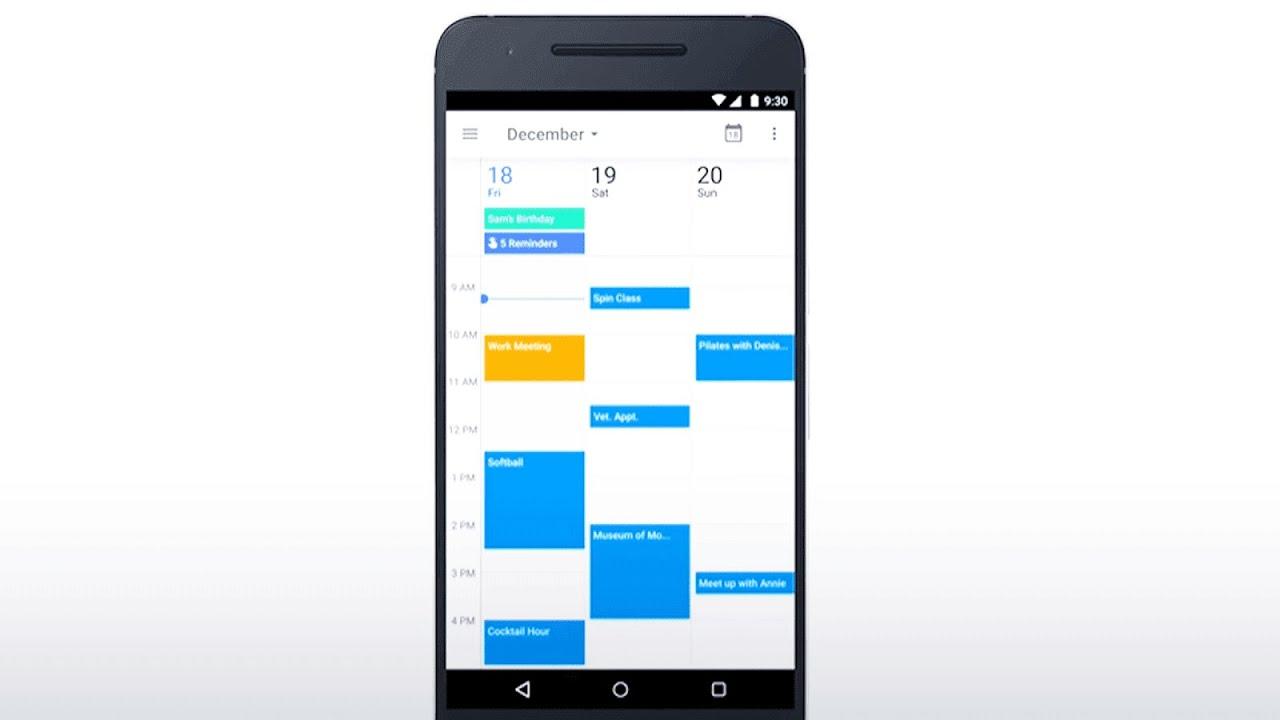 Reminders in Google Calendar