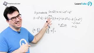 Přijímačky na střední školy 4 - Algebraické výrazy