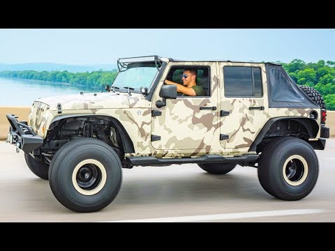 I WRAPPED MY JEEP LIKE A CRAZY MILITARY VEHICLE!!! MY BEST WRAP EVER...