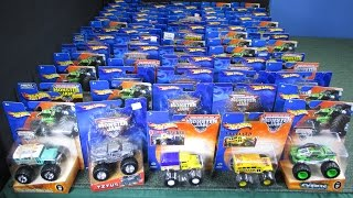 Lot Of 66 Monster Jam Trucks From 2002-2005