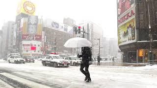 今日の札幌すすきの道路事情