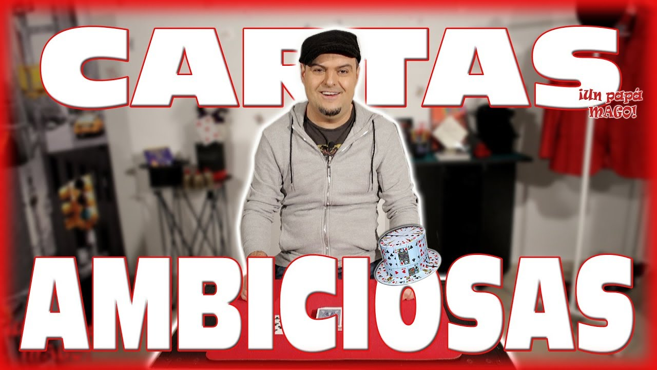 TRUCO DE MAGIA | CARTAS AMBICIOSAS | APRENDE MAGIA | Is Family Friendly