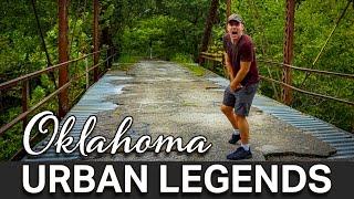 Urban Legends Of Oklahoma | The Scary Story Of Crybaby Bridge - Near Tulsa, Oklahoma