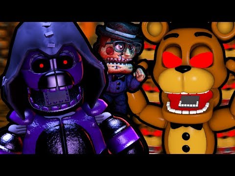 Five Nights at Eth's World 2 (Part 8) || ATTACK OF THE EVIL FREDDY CLONES!!!