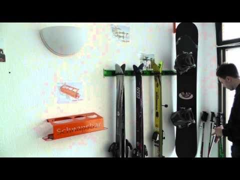 Singleschiene Skihalter