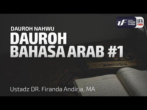 Download Ebook Belajar Bahasa Arab Dari Nol Karya Ustadz Firanda