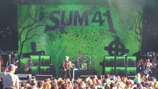 Sum 41 - Billy Spleen (Rockfest 2018)