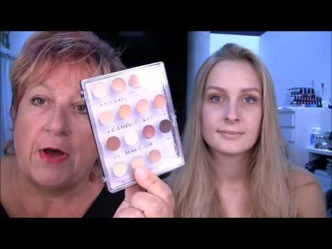 Die kosmetischen Mischungen für die Person
