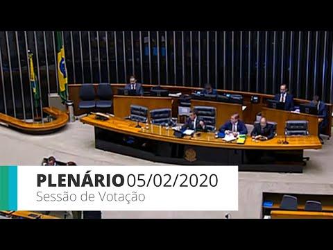 Plenário - Suspensão do mandato do deputado Wilson Santiago (PTB-PB) - 05/02/2020 - 14:00