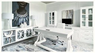 NEW! Luxurious Home Office Reveal & Tour