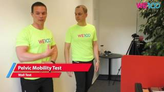 Pelvic Mobility Test | We100 Office Fitness Videos | Eps 05