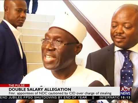 Double Salary Allegation - The Pulse on Joy News (17-4-18)