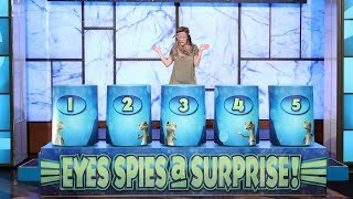Ellen's Lucky Fan Makes a Splash with 'Eyes Spies a Surprise'