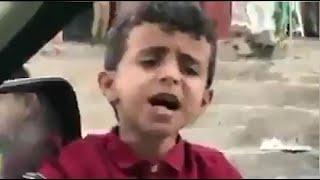 """طفل يمني يغني بصوت ساحر ويلفت الأنظار بموهبته """"بائع الماء"""""""