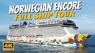 Norwegian Encore | Full Ship Walkthrough Tour & Review | 4K | All Public Spaces Toured And Explained