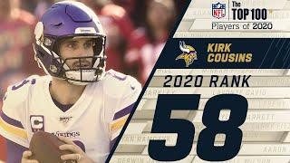 #58: Kirk Cousins (QB, Vikings) | Top 100 NFL Players of 2020