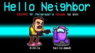 NEW Hello Neighbor IMPOSTOR ROLE! [Among Us]