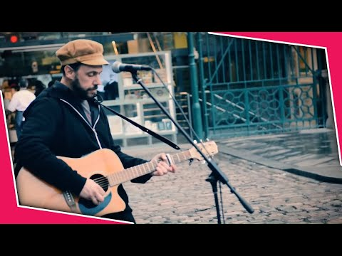 Mad World Rob Falsini Street Performer Guitar Cover by Tears for Fears