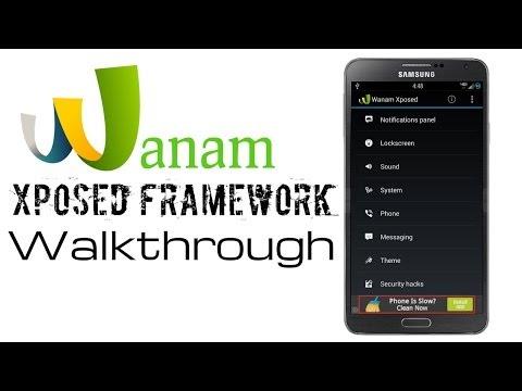 Video of Wanam Xposed