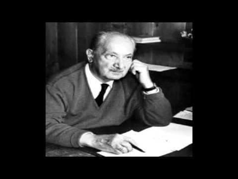 Martin Heidegger - Zeit und Sein (Vortrag aus dem Jahr 1962)