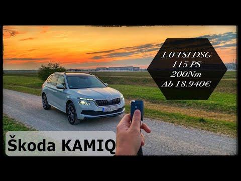 Skoda KAMIQ 1.0 TSI DSG Style | POV Drive by Ubi-testet