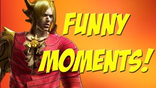 Tekken 6 - Funny Moments [LOUD SCREAMING AND RAGE INCLUDED]