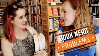 Book Nerd Problems | Book Shopping With A Non-Book Lover
