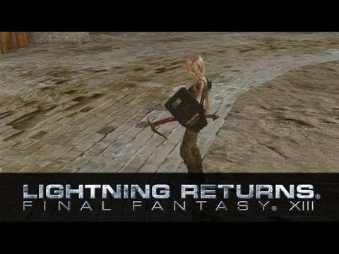 Lightning Returns Final Fantasy 13 - Lara Croft Trailer