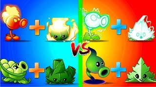 Every Peashooter in Plants vs Zombies 2 Battlez with Power Mint Gameplay