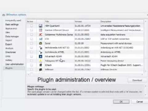 Youtube Video PlugIn - Advantech ADAM