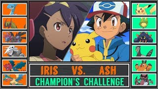 Ash vs. Iris (Pokémon Sun/Moon) - Unova Champion's Challenge