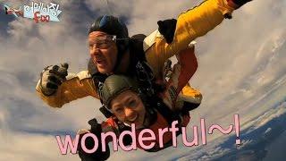 【TVPP】Krystal(f(x)) - Doing Skydiving, 크리스탈(에프엑스) - 스카이 다이빙에 도전! @ Amazing f(x)