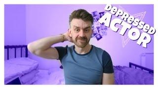DEPRESSED ACTOR   Matt Harrop