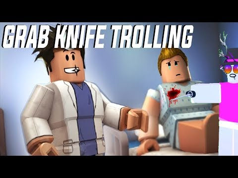 ROBLOX Script Showcase   Grab Knife V4 (WORKING) - смотреть