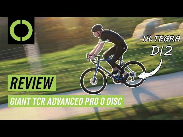 Видео Велосипед Giant TCR Advanced Pro 0 Disc KOM (Chameleon Neptune)