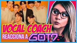 GOT7 ¿VOCES MÁGICAS? | VOCAL COACH REACCIONA | Gret Rocha