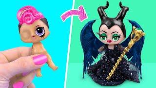 Nie zu alt für Puppen! 10 Maleficent LOL Puppen DIY´s