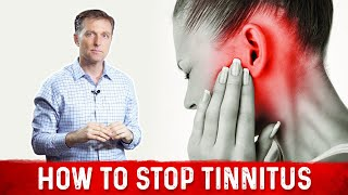 How to Stop Tinnitus (ringing in the ears)