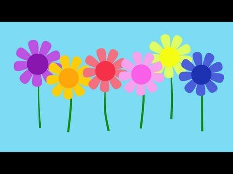 Limba engleza pentru copii - Cantecul culorilor in limba engleza