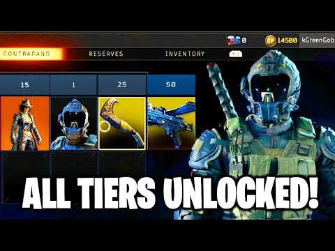 BLACK OPS 4 SEASON 4 BATTLE PASS ALL TIERS OPERATION SPECTRE RISING CONTRABAND STREAM BLACK OPS 4!