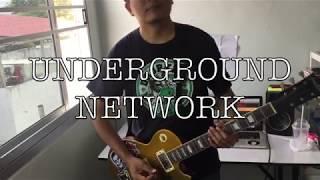 ANTI-FLAG -undergound network guitar cover by SUPUXXSORN