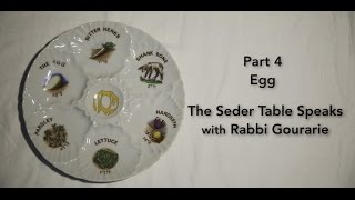 The Seder Table Speaks Part 4
