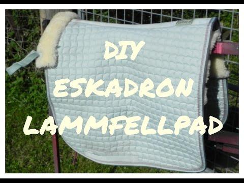 DIY Eskadron Lammfellpad / Lammfellschabracke